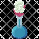 Roses Vase Flowers Icon