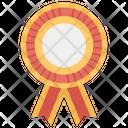 Rosette Ribbon Medal Ribbon Achievement Icon