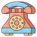 Rotary Dial Phone Icon