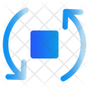 Rotate Arrows User Interface Icon