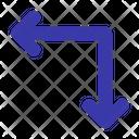 Rotate Rotation Swap Icon