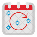 Rotate Right Calendar Icon