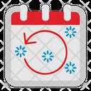 Rotate Left Calendar Icon
