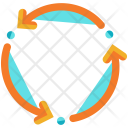 Drone Three Arrow Icon