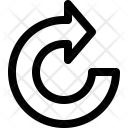 Rotate Right Arrow Icon