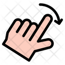 Rotate Hand Hands And Gestures Icon