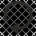 Rotate Digital Ui Icon