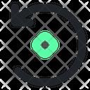 Rotate Rotation Illustration Icon