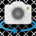Rotate Degree Camera Icon