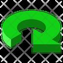 Arrow Rotate Clockwise Icon