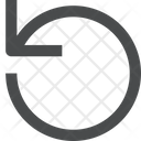 Rotate Counter Clockwise Icon