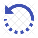 Rotate Counterclockwise Icon
