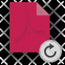 Rotate Doc Document Icon
