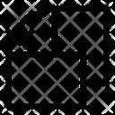 Rotate Left Rotate Horizontal Sychronization Icon