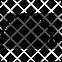 Arrow Semi Forward Icon