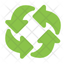 Rotating Refresh Arrows Icon
