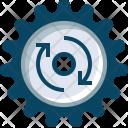 Rotation Gears Cog Icon