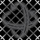Rotation Axis Pivot Icon