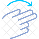 Rotation Turn Fingers Icon