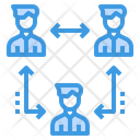 Rotation Team Worker Icon