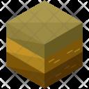 Rough Terrain Isometric Icon