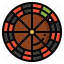 Roulette Game Gambling Icon