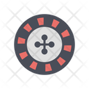 Roulette Game Play Gamble Icon
