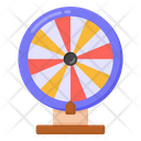 Gambling Casino Roulette Wheel Icon