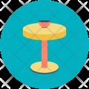 Round Circle Table Icon
