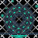 Round Circular Annular Icon