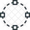 Round Selection Select Icon