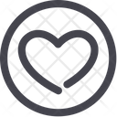 Round Symbol Sign Icon