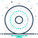 Round Circular Circle Icon