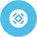 Round Frame Geometric Icon