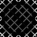 Round Circle Resize Icon