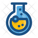 Round Bottom Flask Experiment Chemical Icon