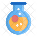 Round Bottom Flask Chemistry Laboratory Icon