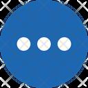 Round Circle Grid Icon