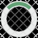 Round Circle Pie Icon