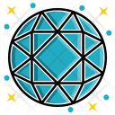 Round Diamond Icon