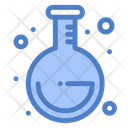 Round Flask Chemical Flask Conical Flask Icon