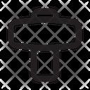 Round Hammer Icon
