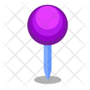 Round Pin Map Icon