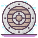 Round Shield Icon