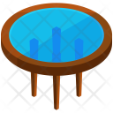 Round Glass Coffee Icon