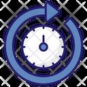 Round The Clock Icon