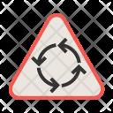 Round Turn Icon