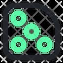 Rounded Design Round Icon