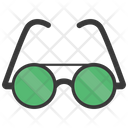 Rounded glasses Icon