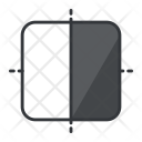 Rounded Rectangle Design Icon